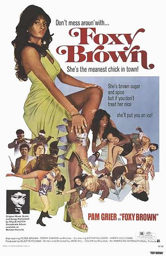 Foxy 40: Black Cinema Series: Foxy Brown by Black History Album, via Flickr
