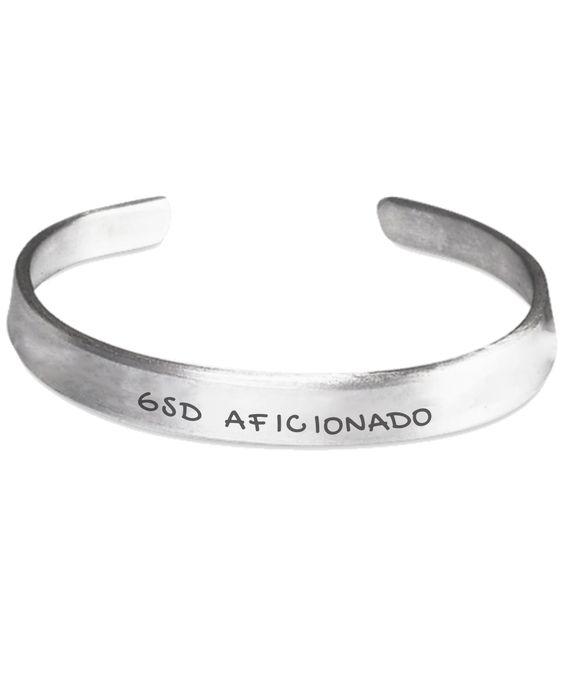 German Shepherd Aficionado - Stamped Bracelet