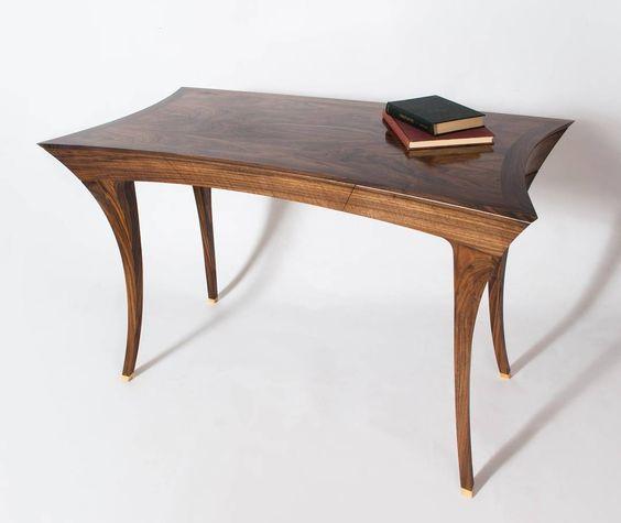 Another shot from @mattduckworthfurniture Matt Duckworth's writing desk - 'The Mallard' #writingdesk #finefurniture #design