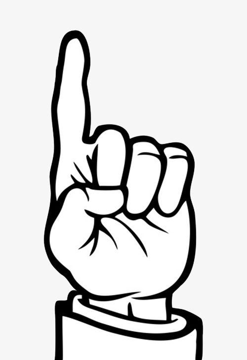 Raise A Finger Animation Hand Animation Clip Art Peace Gesture