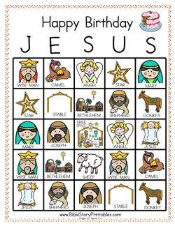 Play Happy Birthday Jesus Bingo!