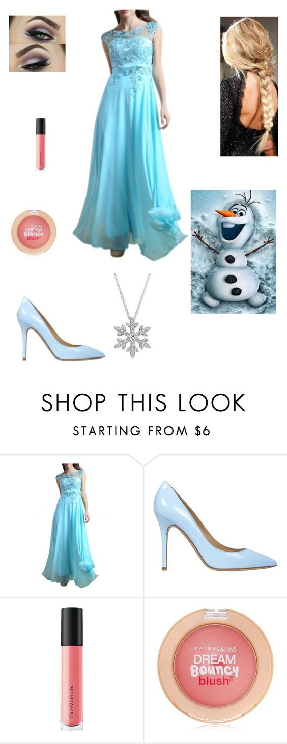 """""""Elsa's Winter Trip Up the North Mountain"""" by www-nyny ❤ liked on Polyvore featuring Semilla, Disney, Bare Escentuals and Maybelline"""