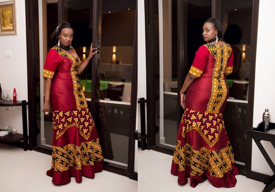 African style for the plus size fashionista