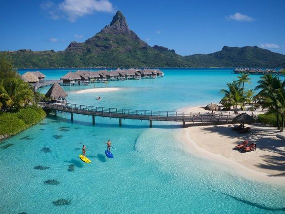 Bora bora. Just about the closest thing to paradise..