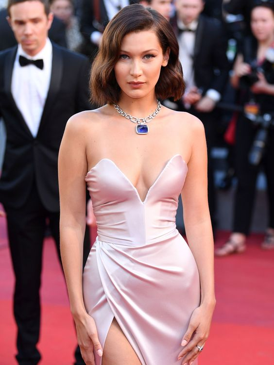 Bella Hadid and More Turn the 2017 Cannes Film Festival Into a Bobbed Girl's Game