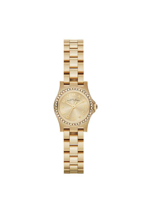 Guld ur - må gerne være med hvid skive