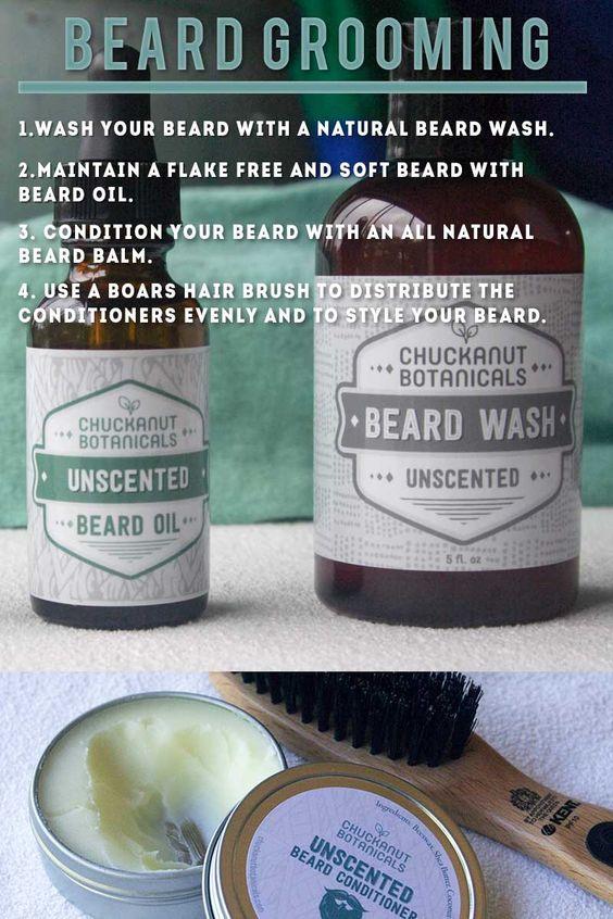 It's easy to maintain a stylish beard if you follow these four steps. #beardedmen #beard