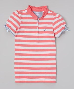 With its classic cut and cotton construction, this polo is a cool and casual wardrobe essential. It will bring a fun, preppy look to any ensemble for smooth sailing in style and comfort.