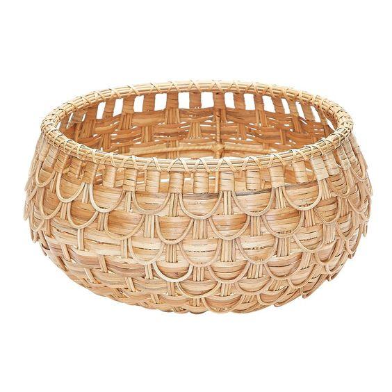 Gouverneur Rattan Wicker Basket Basket Design Wicker Baskets Basket