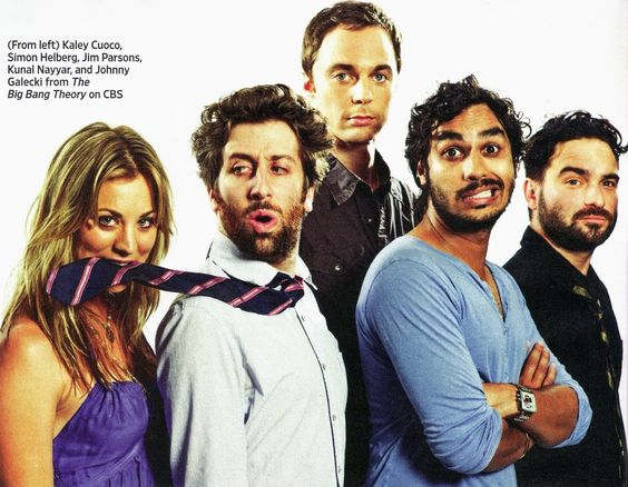Big Bang Theory looking hot!