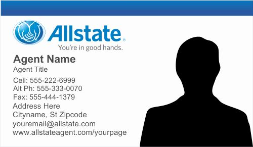 Blank Insurance Card Template Beautiful Order Allstate Insurance Business Card Templates Important Life Lessons Allstate Insurance Business Insurance