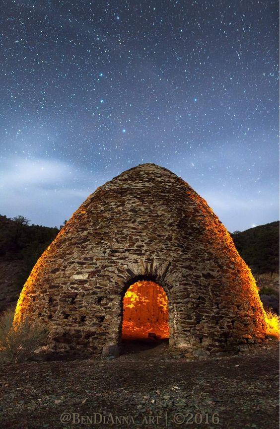 Charcoal Kilns | Death Valley[5616 3744][OC] by Brisco1