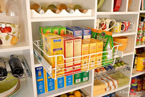 """Tip of the Day: Keep healthy, on-the-go snacks in a special """"snack basket"""" in the pantry. Busy kids can easily grab something quick to eat while dashing out the door for soccer practice, piano lessons, or other after school activities. Plus, all the snacks in the basket will be you-approved so you'll know they're not spoiling their appetite for dinner!"""