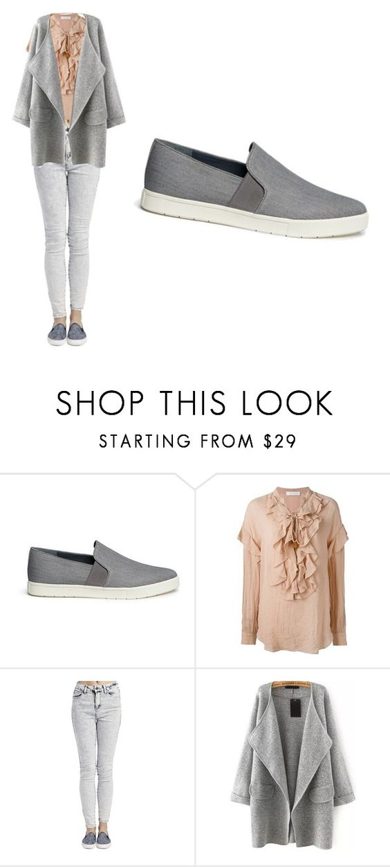 """""""grey"""" by neadom25 ❤ liked on Polyvore featuring Vince, Chloé, Wet Seal, women's clothing, women, female, woman, misses and juniors"""