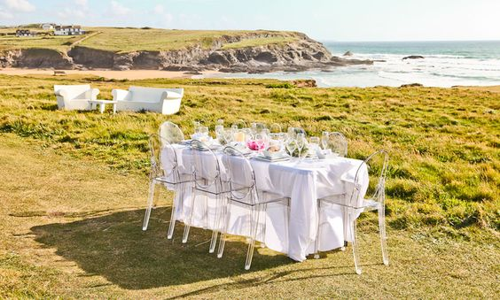 Wedding Hire, Cornwall, Devon, Ghost Furniture, Venue Styling | Inspire Hire