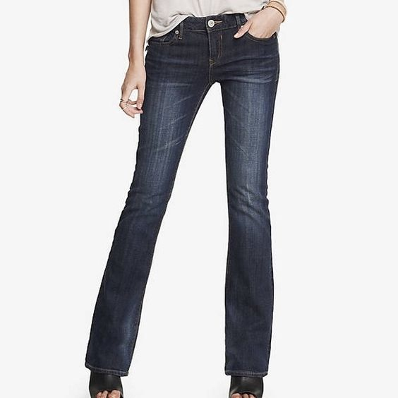 Express Stella Bootcut jeans A jean that delivers sexy everyday ...