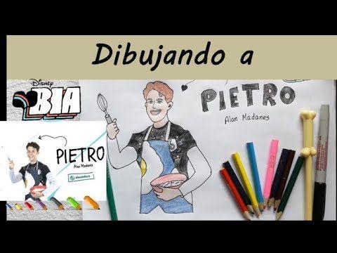 Dibujando A Pietro De Bia Conoce A Los Personajes Pietro Es Alan Madanes Bia Youtube Cosas De Disney Tutorial De Dibujo Personajes