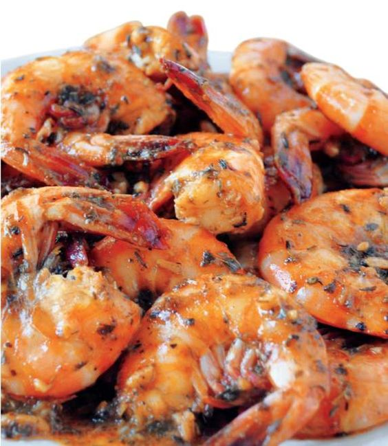 Louisiana Creole BBQ Shrimp-this was GREAT!!!  Added crushed garlic to this recipe