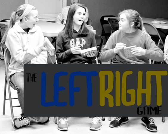 The Left Right Game – JessicaLynette.com