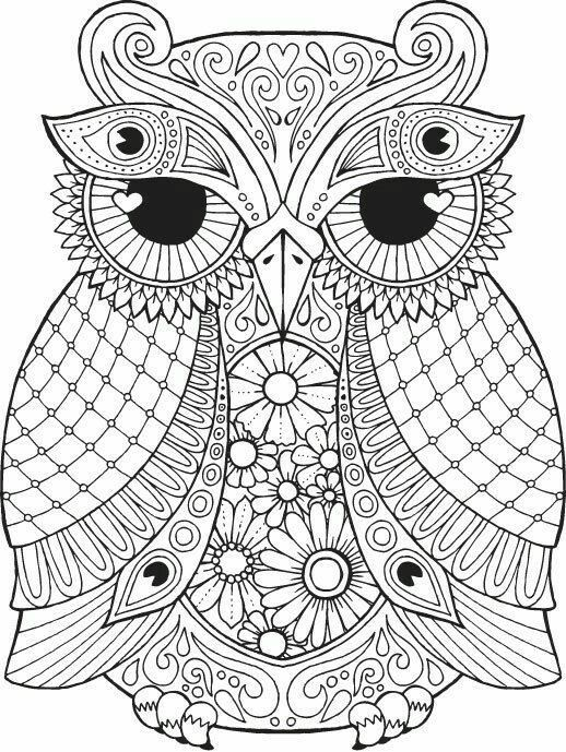 Doodle Owl Coloring Page Free Printable Owl Coloring Pages Mandala Coloring Pages Animal Coloring Pages