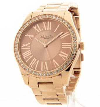 Bling Jewelry Geneva Rose Gold Plated Classic Round CZ L...