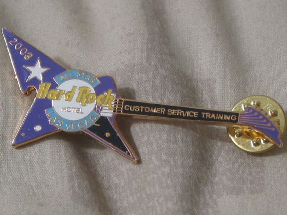 A Junkee Shoppe Junk Market Stop: HARD ROCK Hotel Las Vegas 2003 Customer Service Pinback ... For Sale Click Link Here To View >>>> http://ajunkeeshoppe.blogspot.com/2015/12/hard-rock-hotel-las-vegas-2003-customer.html