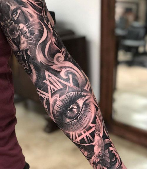 Top 101 Forearm Sleeve Tattoo Ideas 2020 Inspiration Guide Tattoo Sleeve Designs Forearm Sleeve Tattoos Sleeve Tattoos