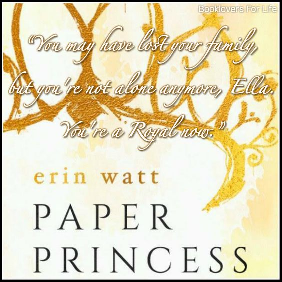 Paper Princess (The Royals #1) by Erin Watt ♥ (Click to read my review) #book #quote: