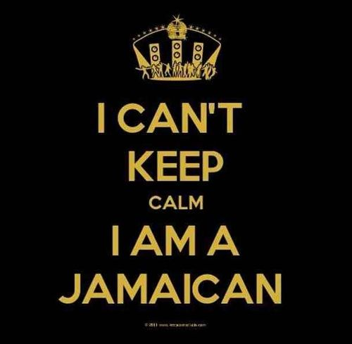 I am Jamaican