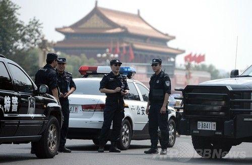 中国の警察官