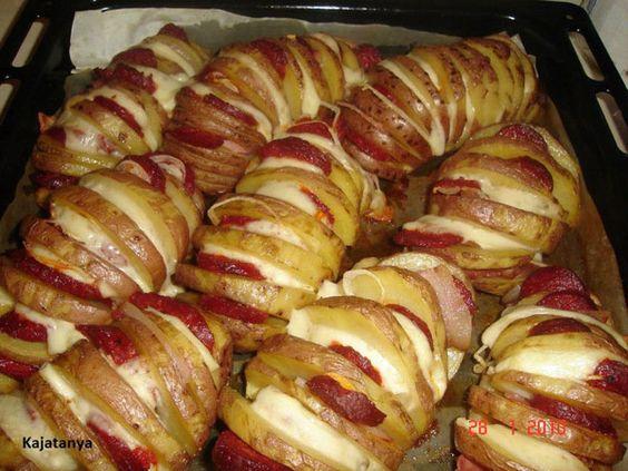 Receta Fácil de Patatas Rellenas al Horno - Pintando una mamá