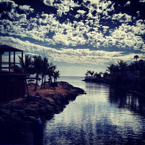 #grancanaria #mogan #clouds #sky #sea #canaryislands #puertorico - @lianne_r- #webstagram