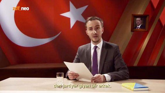 Bei ZDF Neo : Böhmermanns Gedicht über Präsident Erdogan