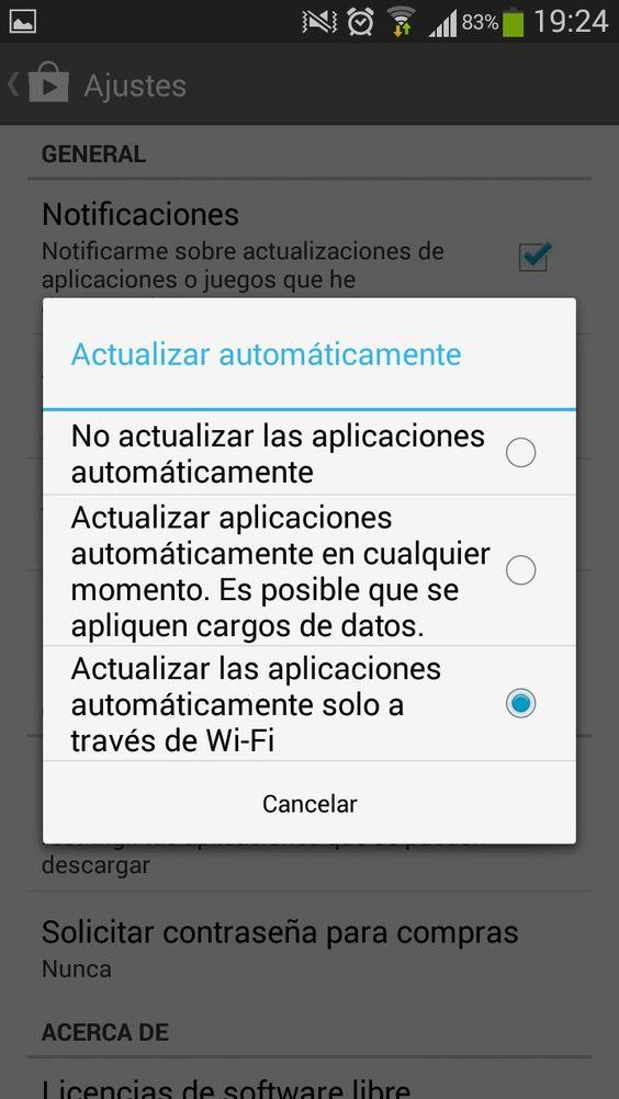 Consejos para mejorar el rendimiento de tu Android