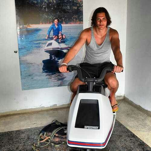 Escobar's Toy a Water Ski.