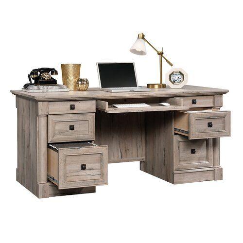 Cormick L Shape Desk In 2020 L Shaped Desk Executive Desk Desk