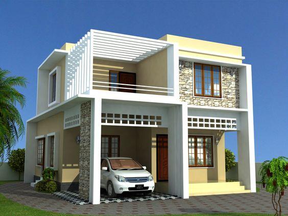 Kerala Model Home Plans Presents Contemporary Model
