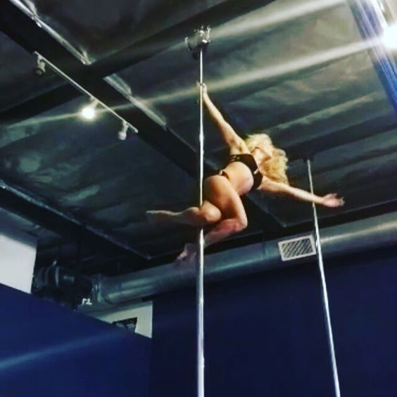 Dragon Horse Drop! If only I had more Pole length. Haha! This could go on forever. So fun.  Can't do this yet. Too awesome for my body to handle