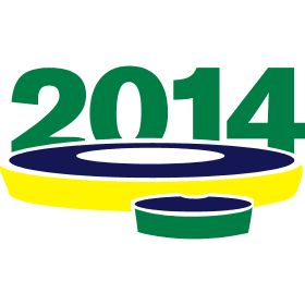 Maracana in Rio de Janeiro 2014 - Das Maracana in Rio de Janeiro 2014 geh�rt zu den gr��ten Fu�ballstadion der Welt.