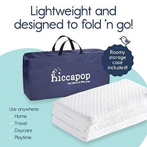 Hiccapop Tri Fold Pack N Play Mattress