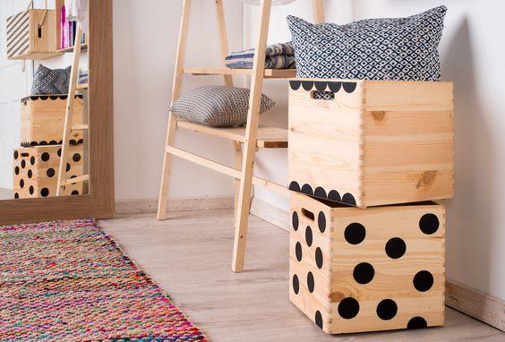 Aunque pintar no sea lo tuyo, con elementos decorativos simples como círculos, puedes dar ese toque personal que queda tan bien en los hogares - Leroy Merlin: