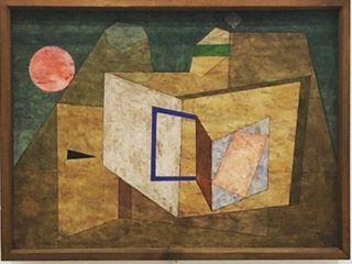 Paul Klee, Geöffnet / Ouvert, 1933 - aquarelle, plume et crayon, photographie @mademoiselleconfidential