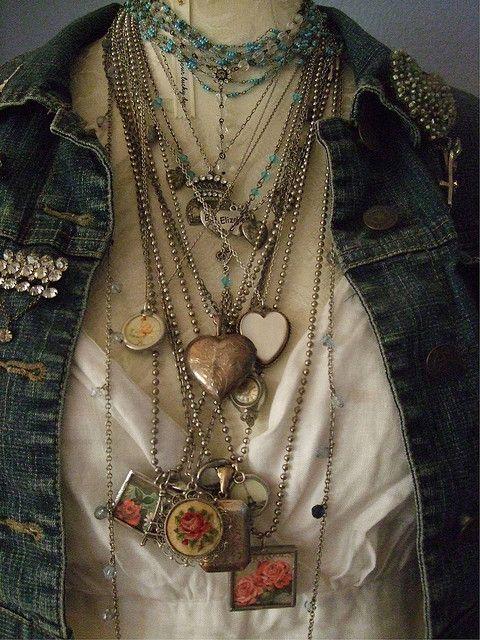 Jewelry drape