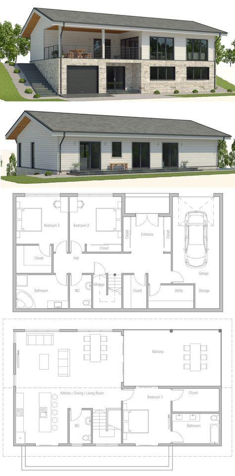 Sloping Lot House Plan House Design Floor Plan Affordable Home House Plan Sloping Lot House Plan Passive House Design Duplex House Plans