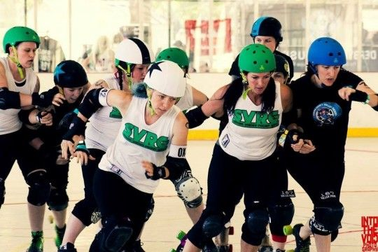 Silicon Valley Roller Girls - Flat Track Roller Derby San Jose, California  #Kids #Events