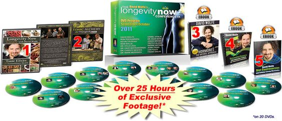 David Wolfe excerpt from the 2011 Longevity Now Conference on how to stimulate the body's natural production of hormones & the precursors to hormones through diet & lifestyle. INCREDIBLY HELPFUL!