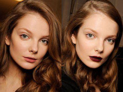 モデルがメイクをする前後の顔を見られる「MODEL-MORPHOSIS」 - GIGAZINE
