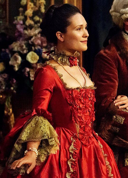 "Claire Sermonne as Louise de Rohan in ""Outlander"" (2014-)"