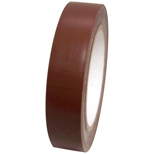 Medium Brown Vinyl Tape 1 X 36 Yard Roll Rubber Resin Vinyl Glow Tape