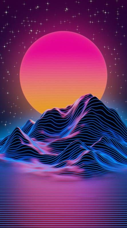 Synthwave Vaporwave Wallpaper Synthwave Art Phone Wallpaper